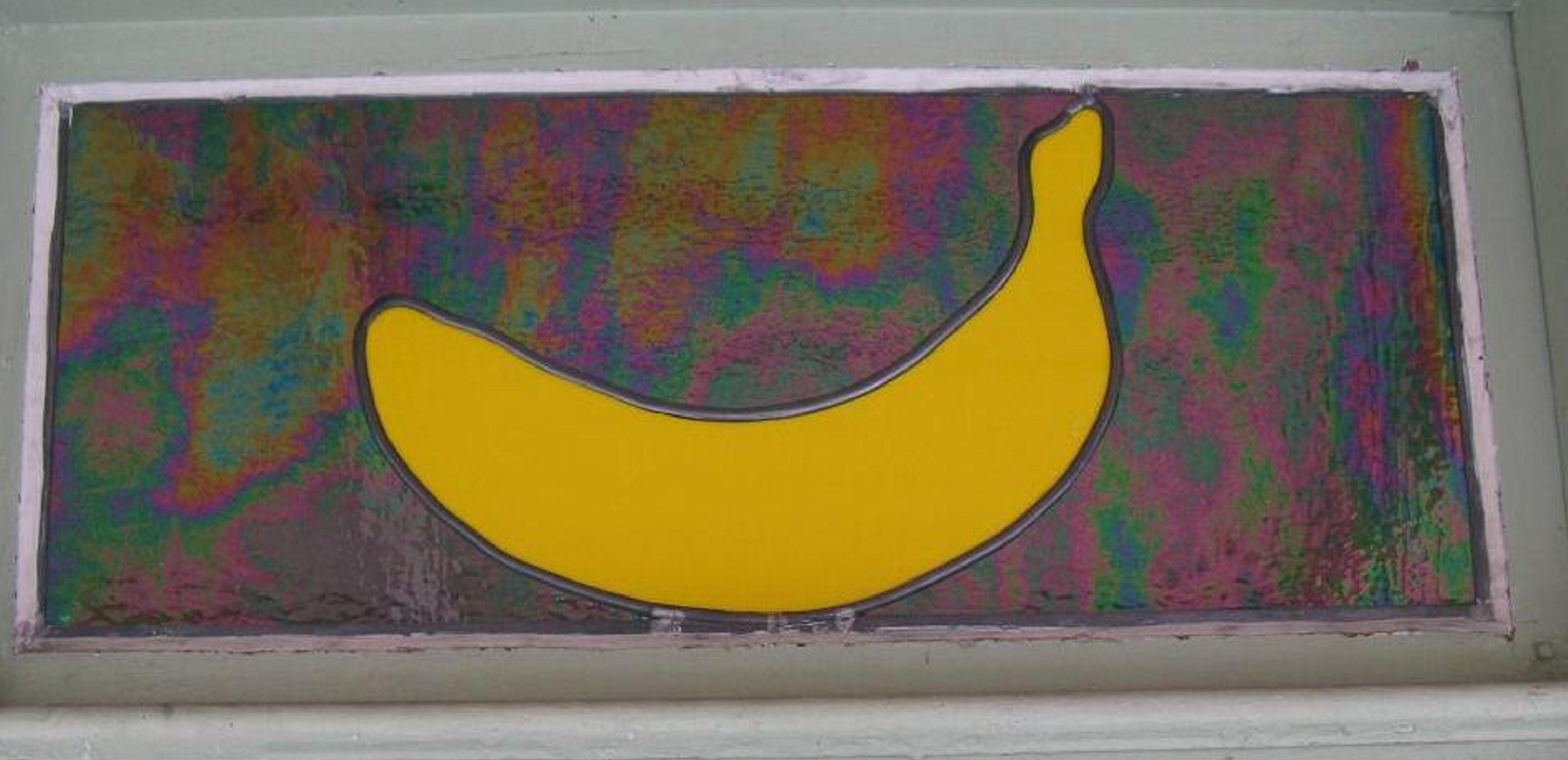 banana transom - outside